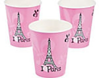Paper Perfectly Paris Cups