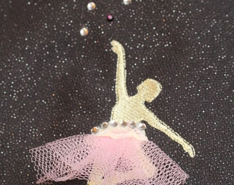 Ballerina - embroidery design