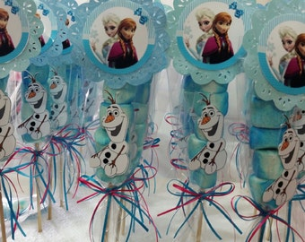 Frozen Marshmallow Party Favors, Olaf Party favors