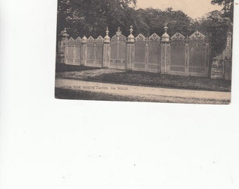 Architectural Details The White Gates Wrought Iron Near Mold Great Britain