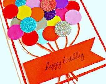 Birthday card Kids, Girlfriend Birthday cards, Balloon Birthday card, friend Birthday card, Birthday cards kids, birthday card girl, balloon