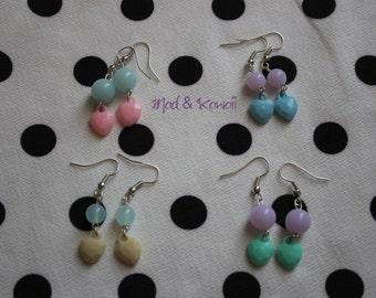 Earrings little hearts