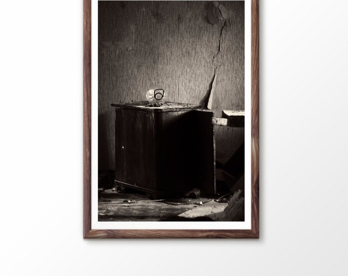 Instant art Printable photography Digital Download Download art photography Old House Photo Abandoned House Photo Old interior Old table