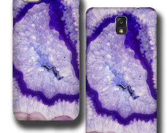 iPhone 7 case Agate Stone iPhone 6s Case Purple Geode iPhone 7 plus iPhone 5 iPhone 4 Samsung Galaxy S3 Galaxy S4 Galaxy Note 5 S6 Edge plus