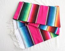 Mexican Sarape - Bright colors