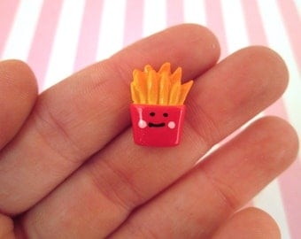 Resin French Fry Cabochons French Fries,  #129a
