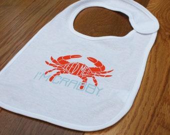 Feed Me, I'm Crabby - Bib - Maryland Baby