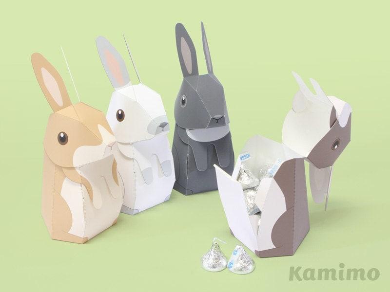 Bunny Rabbit Craft Template