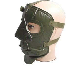 Extreme Cold Weather Protection Face Mask olive green new army stock winter survival windproof off-grid fancy dress horror