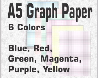 A5 Digital Graph Paper