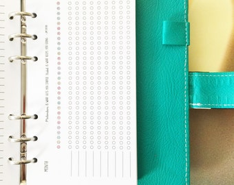 PERSONAL SIZE / Daily Habit Tracker Inserts