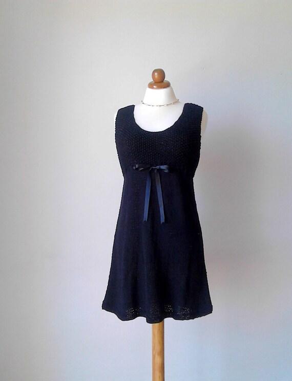 Das kleine schwarze Kleid Leinen schwarz Audrey Hepburn Kleid