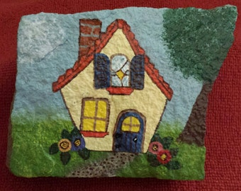 Cozy Cottage Hand-Painted Flagstone