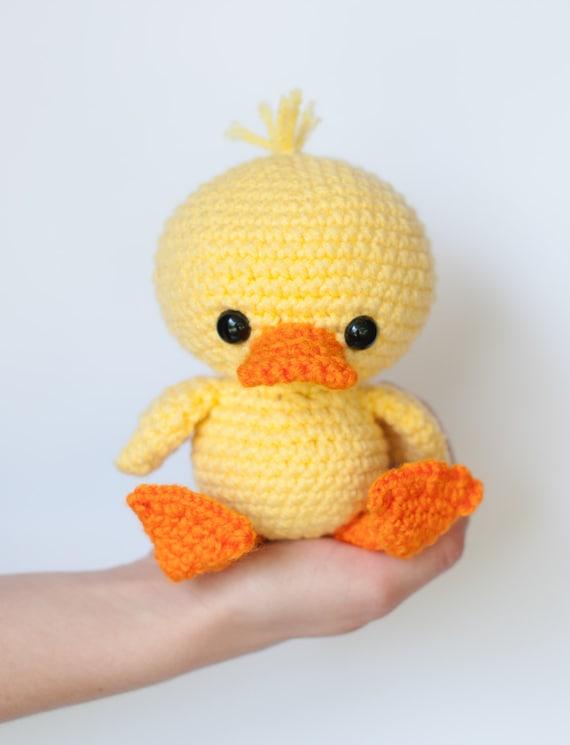 Crochet Duck Pattern Amigurumi : PATTERN: Crochet duck pattern amigurumi duckling crochet