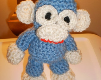 Crochet Amigurumi Stuffed Animal Monkey Baby Toy