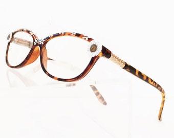Daisy  Reading Glasses, Flower eyeglasses +3.50