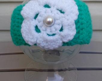 Crochet Headband, Baby Girl Headband, 1 Year Old Headband, Girl Headband, Baby Girl Gift