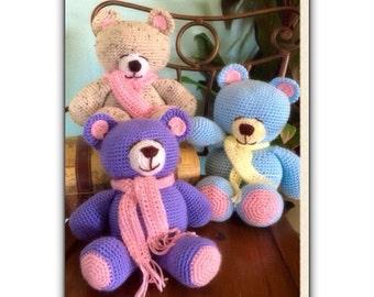 Crochet Teddy Bear-Amigurumi