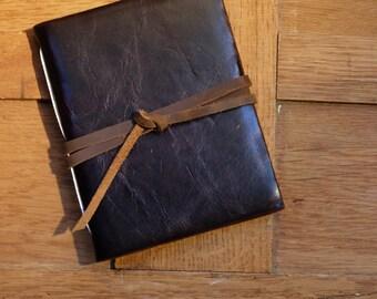 Pocket Leather Artist's Sketchbook