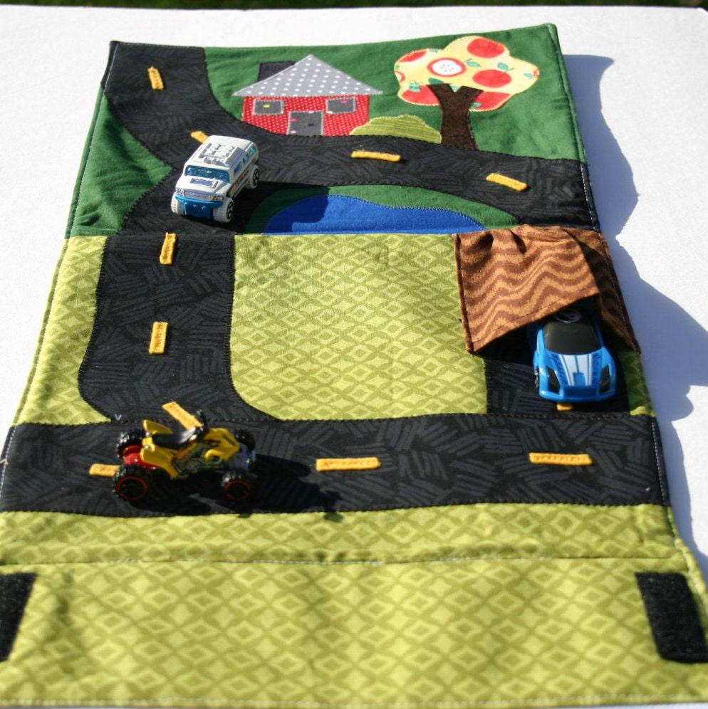 Toy Car Mat Restaurant Mat Play Mat Race Car Car Play Mat
