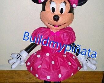 "Minnie mouse, 3D, 26"" tall."