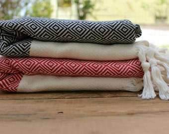 Express Shipping Turkish Towel  Beach Towel Peshtemal  Bath Towel  Hamam Towel  Pareo Spa Towel Yoga Mat