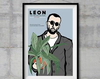 Leon the Professional - Leon Poster - Original Illustration