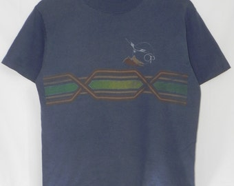 Rare 80/90s//Ocean Pacific//OP Surfboard//Rare Dual-Sided Print Tshirt//Size M//Made In USA hang ten