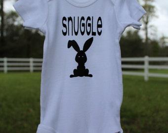 Snuggle Bunny raglan/dress/tee/onesie