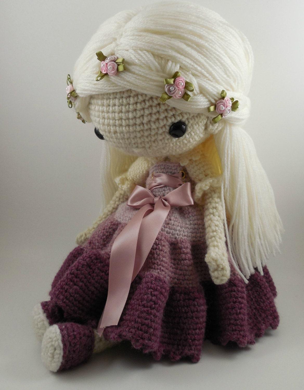Victoria Amigurumi Doll Crochet Pattern Pdf By Carmenrent