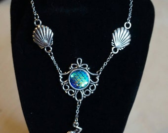 "Necklace ""Blue Mermaid"""