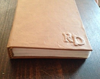 Handmade Journal (I can't believe it's not leather!)
