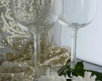 Set of 6 Bohemia Crystal Glasses