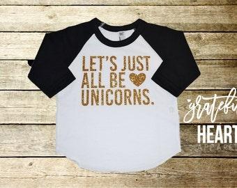 Unicorn shirt, Unicorn t-shirt, Unicorn clothing, Kid's unicorn shirt, Always be a unicorn, Unicorn costume, Unicorn party, Unicorn top