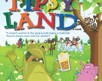 Tipsy Land Drinking Board Game