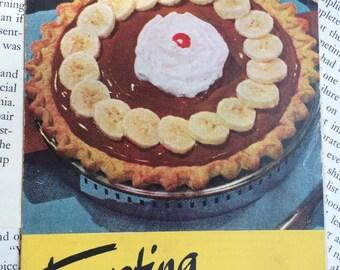 1953 Tempting Banana Recipe Book from Chiquita Banana