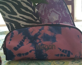 Monogram pencil case - new styles, really cute!  Monogram or name included embroidered on bag.
