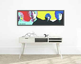 poster beatles, painting beatles, music poster, wall art beatles, john lennon quotes, paul mccartney print, rock poster, beatles, liverpool.