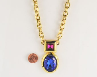 Monet Vintage Fashion Necklace