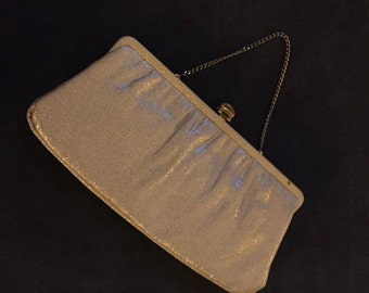 Vintage Gold Clutch purse