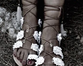 "Wedding sandals/ Gladiator sandals/ bridal leather sandals/ Lace up sandals/ Strappy sandals/ Beach boho sandals/ ""PRINCESS 2"""