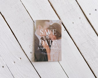 Personalized Save the Date Postcard