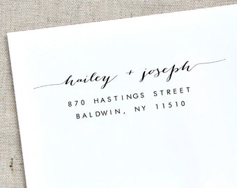 self inking Return address stamp,family address stamp,custom address stamp,wedding address stamp 21