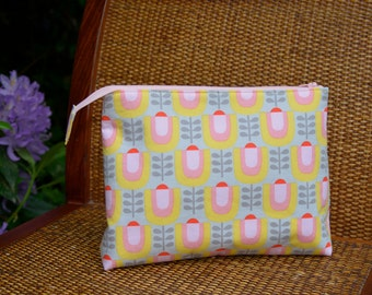 Knitting Project Bag with Zipper