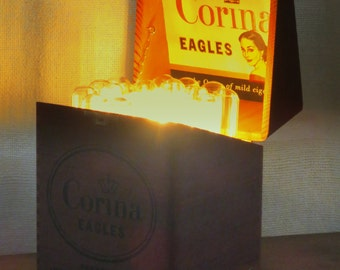 Not Just a Cigar Box - accent lamp with LED bulb