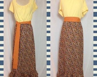 Prairie style maxi dress