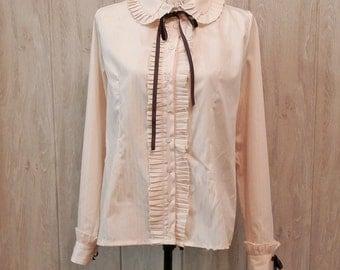 "Classic Lolita ""Vintage"" Shirt, Casual, Gothic Lolita"