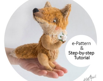 Teddy Fox 12cm - Step-by-step Tutorial with e-Pattern PDF