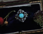 Antique Opal Ring, Antique Engagement Ring, Rose Cut Diamond Ring, 18 Karat Gold Ring, Edwardian Ring, October Birthstone Jewelry.