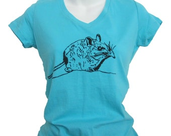 Cute Animal Shirt   Endangered Shrew   Animal Print T-shirt   Elephant Shrew